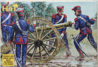 HaT 1/72 HAT8039 French Line Horse Artillery (Napoleonic)